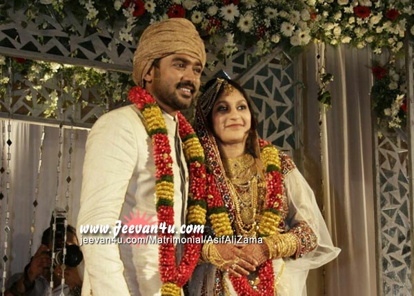 Asif Ali Wedding Reception  Marriage Reception Photos