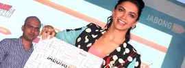 Deepika Padukone bringing out Film Yeh Jawaani Hai Deewani inspired collection of Jabong