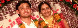 ARJUN SUNITHA wedding Gallery