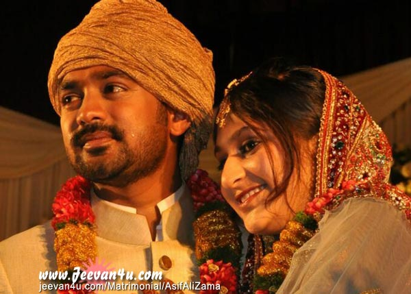Dileep during Asif Ali and Zama Mazreens wedding