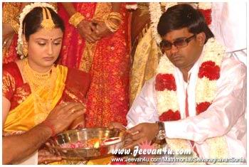 Selvaraghavan Tamil Movie Director Sonia Agarwal Film Actress Wedding Photos