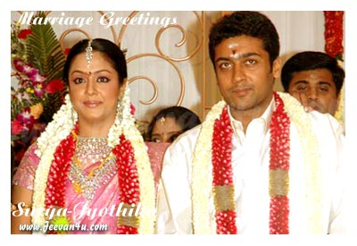 Surya Jyothika Wedding Photos Tamil Actor Actress Marriage Pictures Images