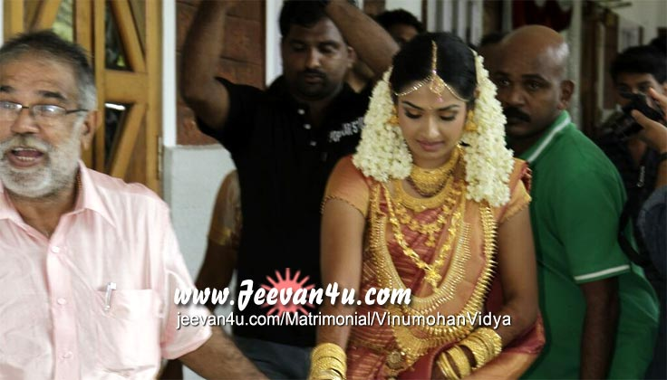 Actress Vidya Marriage Photos