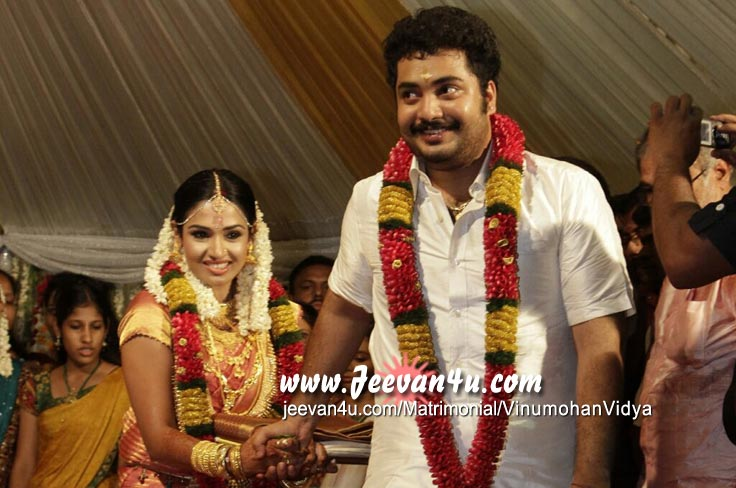 Malayalam Actor Vinu Mohan Wedding Photos